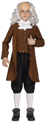 Benjamin Franklin Child Deluxe Costume