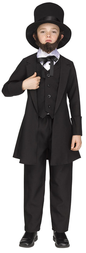 Deluxe Abe Lincoln Child's Costume