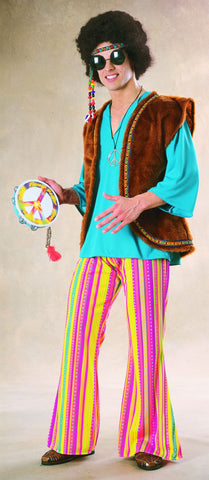 70's Hippie Woodstock Adult Costume
