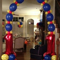 Link-A-Loon Balloon Arch With Numbers