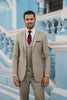 Allure Ultra Slim Fit Sand Brunswick Suit