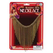 Fringe Gold 1920's Flapper Necklace