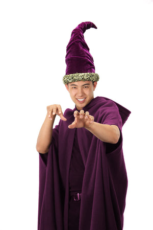Purple Fancy Wizard Hat