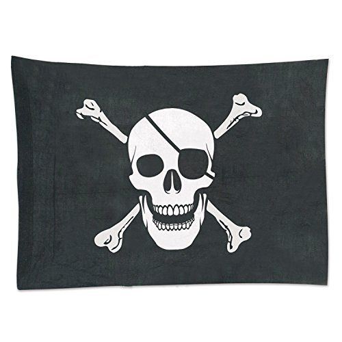 "Large Pirate Flag - 29"" x 40"""