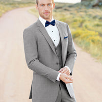 Ultra Slim Heather Grey Clayton Tuxedo