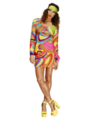 70's Flower Power Adult Costume