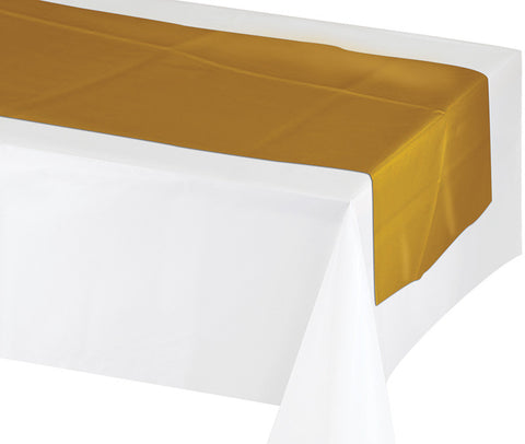 Gold Table Runner