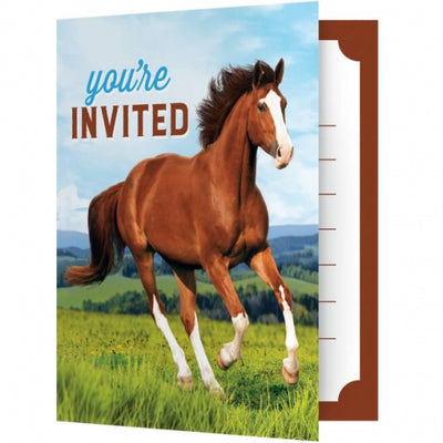 Horse Party Invitations