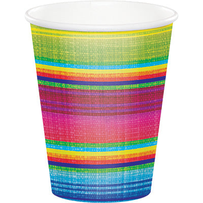 Serape- Plastic Cups/ 16 oz. 8 Count
