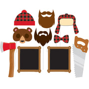 Lumber Jack - Photo Booth Props