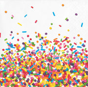Sprinkles Party - Beverage Napkins/ 2 Ply -16 count