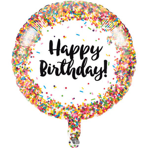"Sprinkles Party - 18"" Mylar Balloon"