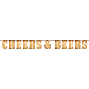 Beers and Cheers - Letter Banner