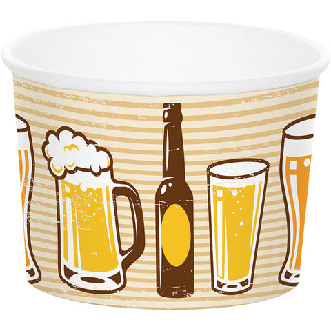 Beers and Cheers -Snack Cups 9 oz. 6 Count