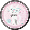 Purr Fect Party - Luncheon Plates /9 inch/8 Count
