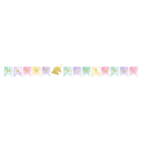 Unicorn Sparkle Birthday Banner