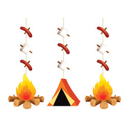 Camp Out Hanging Cut Outs - Decorations