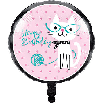 Purr-Fect Party Mylar 18' Balloon