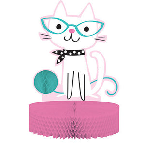 Purr-Fect Party Honey -comb Centerpiece