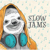 Dapper Sloth - Slow Jams Dessert Napkin - 24 Count