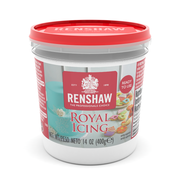 Renshaw Royal Icing - 14 oz./ White