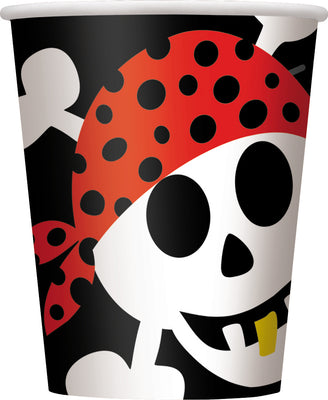 Pirate Fun - Cups/ 8 Count /9 oz.