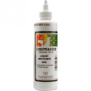 Chefmaster White Liqua-Gel 16 oz