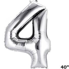 "34"" Number Balloon - 4"