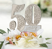 50 Years Anniversary Cake Pick