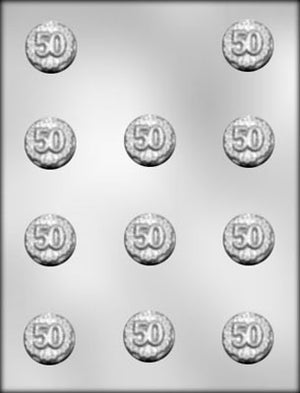 50th Anniversary Mint Chocolate Mold