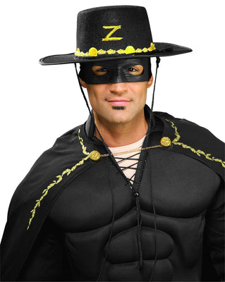 Adult Zorro Costume Kit