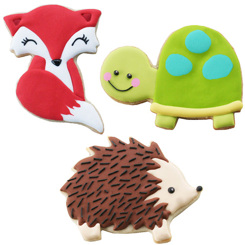 Woodland Critters Cookie Cutters
