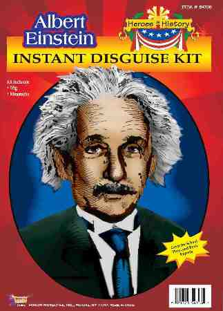 Albert Einstein Costume Kit