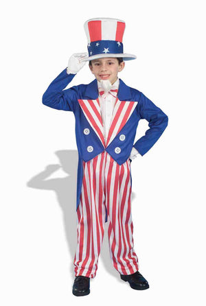 Kids Deluxe Uncle Sam Costume