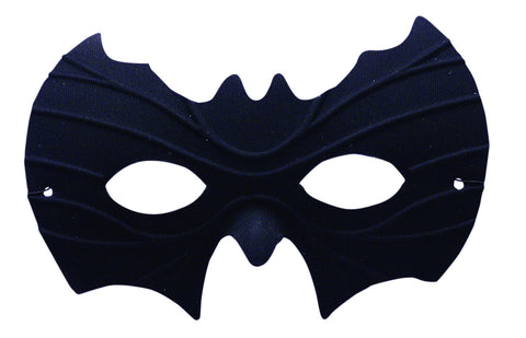 Bat Face Black Half Mask