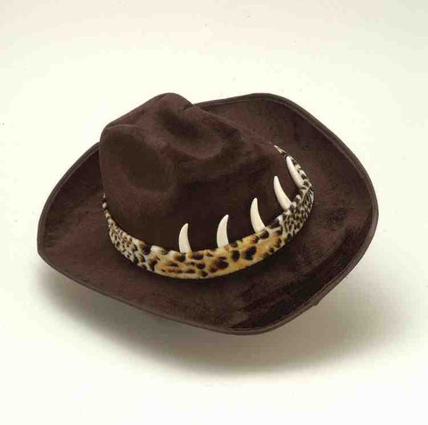 Cowboy Hat with Teeth/Crocodile Dundee Hat