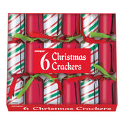 Christmas Crackers/Poppers - 6 Count