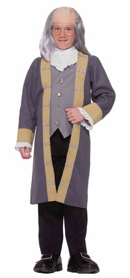 Kid's Benjamin Franklin Colonial Costume