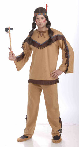 Adult Brave Native American Indian Costume