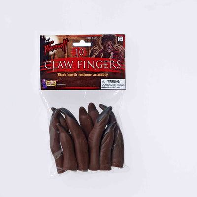 Brown Werewolf Finger Claws