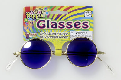 Hippie Glasses - Blue Lenses