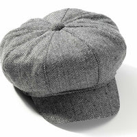 1920s Newsboy Tweed Newsboy Hat