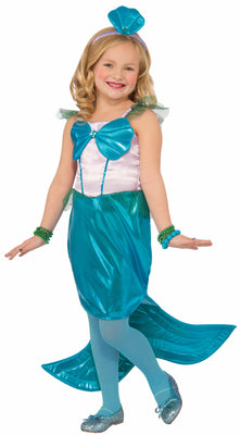 Aquaria the Mermaid Girl's Costume