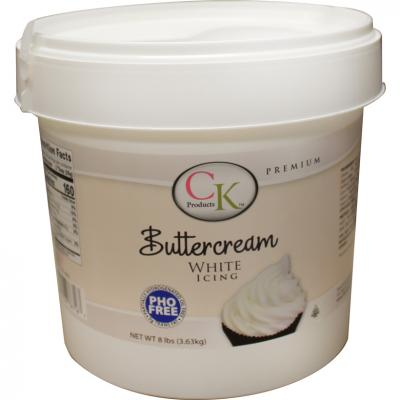 White Buttercream Icing | 8 LBS