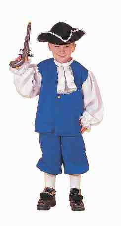 Colonial Boy Old Fashion Costume