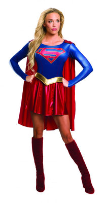 Adult Supergirl Super Hero Costume