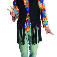 Adult Hippie Man Flower Power Costume