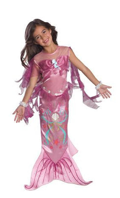 Pink Mermaid Kid's Costume
