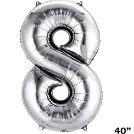 "34"" Number Balloon 8"