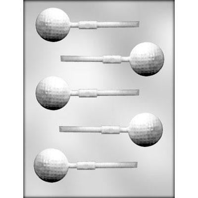 3-D Golf Ball Sucker Chocolate Mold